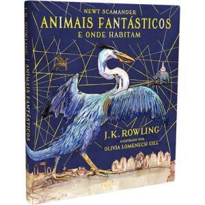 Livro - Animais Fantásticos e Onde Habitam: Edição Ilustrada - R$52,90