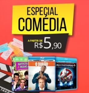 Especial Comédia: DVDs a partir de R$5,90