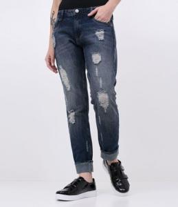 Calça Jeans Boyfriend - TAM 34 R$60