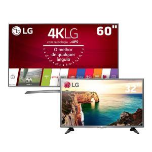 [Casas Bahia] Compre uma TV tela grande e leve uma TV 32″ por + 1 real - R$4886