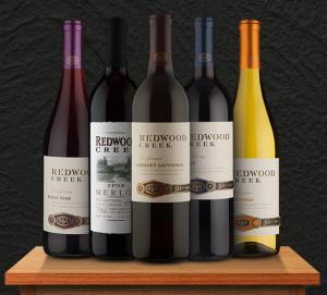 Redwood Creek: R$35 por garrafa