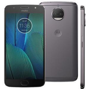 Smartphone Motorola Moto G5s Plus XT1802 Platinum 32GB, Tela 5.5'', Dual Chip, TV Digital, Android 7.1, Câmera Traseira Dupla 13MP e 3GB RAM - R$854