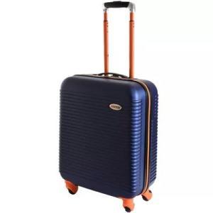 Mala de Viagem Exeway N28 com Rodízios 360°, Azul/Laranja - R$128