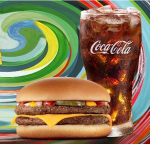 McDonald's Bateu a Fome (das 15h às 18h) - McDuplo + Bebida 500ml - R$9,90