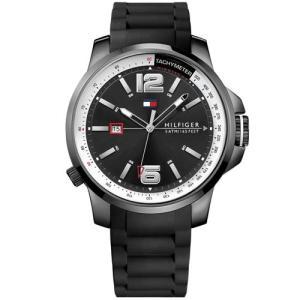 Relógio Tommy Hilfiger Masculino Borracha Preta - R$354