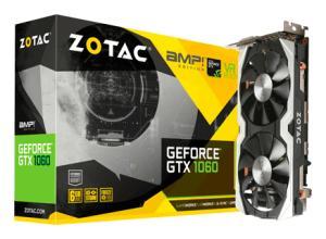 PLACA DE VIDEO ZOTAC GEFORCE GTX 1060 AMP! EDITION 6GB