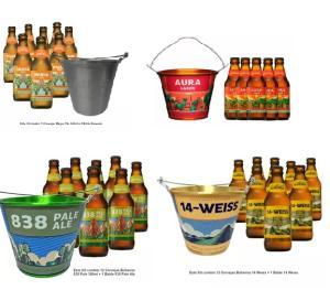 Kit Cerveja Bohemia: COMPRANDO 12 Bohemias 300ml GANHE 1 Balde Bohemia por R$ 59