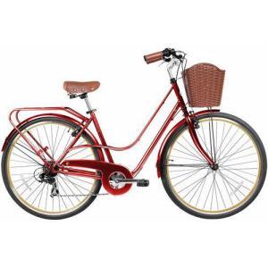 Bicicleta Feminina Gama City Avenue Rouge - R$949