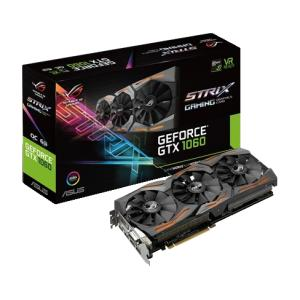 Placa De Vídeo GeForce GTX 1060 Rog Strix Oc - R$1329