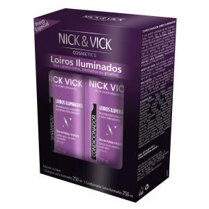 Kit Nick & Vick Nutri Pro-Hair Loiros Iluminados - R$44,20
