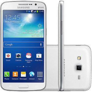 "Smartphone Samsung Galaxy Gran 2 Duos Dual Chip Desbloqueado Android 4.3 Tela 5.3"" Câmera 8MP TV Digital - Branco - R$649"