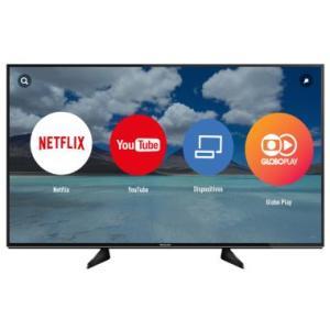 """Smart TV LED 43"""" Panasonic Ultra HD 4K TC-43EX600B por R$ 1714"""
