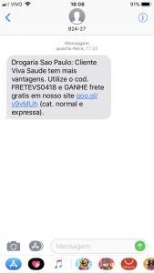 Drogaria Sao Paulo GANHE frete gratis