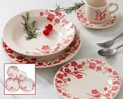 Aparelho de Jantar 20 Peças de Cerâmica Donna Jardim Oriental Biona - R$99,90