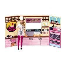 BUG - Barbie Massinha Food Truck Comida Japonesa e Sushi Fun Divirta se