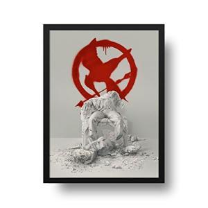 Poster Filme - Jogos Vorazes - Tordo - Molura Preta - 40 x 50 cm - R$100