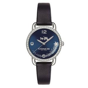 Relógio coach feminino couro preto - 14502668 - R$592