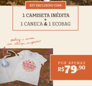 Kit Dia das Mães Chico Rei - R$79,90