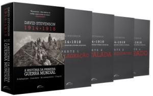 Box - A História da Primeira Guerra Mundial - 1914-1918 - 4 Volumes por R$ 35