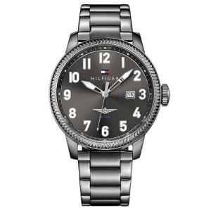 Relógio tommy hilfiger masculino aço preto - 1791313 - R$448