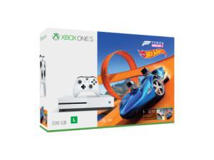 Xbox One S 500GB Forza Horizon 3 + Hotwheels - Com 1 Controle e Cabo HDMI