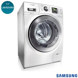 Lavadora de Roupas Samsung 10,1 kg Seine Branca com 14 Programas de Lavagem e Eco Bubble - WF106U4SAWQ - SGWF106U4SAWQ  - R$1699