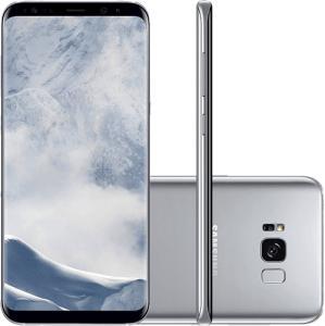 Sansung Galaxy S8 Prata - R$ 2.379