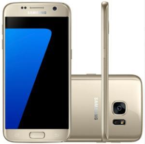 "Smartphone Samsung Galaxy S7 SM-G930 32GB  4G Tela 5.1"" Câmera 12MP Android 6.0 - R$1498,41"