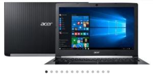 Notebook Acer Aspire 5 A515-51-56K6 Intel Core i5 - 8GB 1TB LED 15,6 Windows 10 - R$ 2.089,05à vista