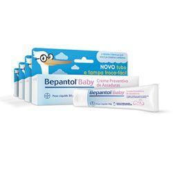Kit (4 x 30g) Creme Preventivo de Assaduras Bepantol Baby - R$49,82