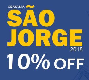 Depósito de Meias São Jorge: 10%OFF em todo o site