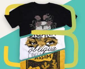 3 camisetas por R$99 na Chico Rei