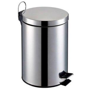 2 Lixeiras de Aço Inox 5 Litros por R$54,90 + Frete Grátis