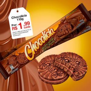 [Americanas - Loja Física] Chocolícia 110g por R$ 1,99