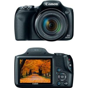 Câmera Digital Semiprofissional Canon Powershot Sx530hs 16MP 50x 2MB Grande Angular de 24mm Preto Full HD por R$999