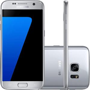 """[Cartão Submarino] Smartphone Samsung Galaxy S7 Android 6.0 Tela 5.1"""" 32GB 4G Câmera 12MP - R$1372"""
