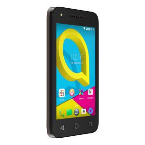 Smartphone Alcatel U3 Preto - Dual chip, 8GB, 4G, Câmera 8MP e frontal 5MP, Android 6.0 - R$ 296