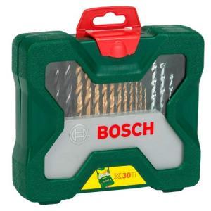 Jogo de Brocas X- Line Titânio com 30 Peças - BOSCH- 2607019324000 - R$40