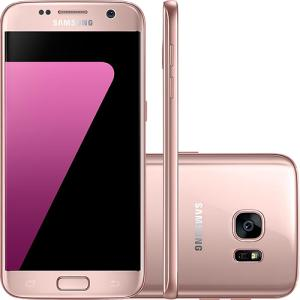 "Smartphone Samsung Galaxy S7 Android 6.0 Tela 5.1"" 32GB Wi-Fi 4G Câmera 12MP"