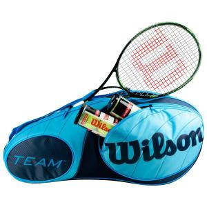 Raqueteira Wilson Team X6 Azul - R$265,91