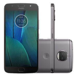 Motorola Smartphone Motorola Moto G5S Plus XT1802 Platinum - R$ 899,10