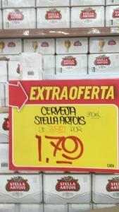 [Loja Fisica/Extra Anhaguera] Cerveja Stella Artois 310 ml por R$ 1,79