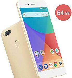 Smartphone Xiaomi Mi A1 dual Android One Tela 5.5 64GB Camera dupla 12MP - Dourado