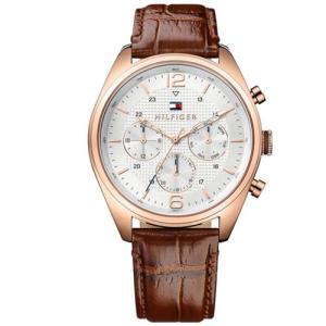 Relógio Tommy Hilfiger Masculino Couro Marrom 1791183 - R$455