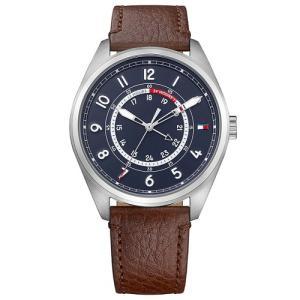 Relógio Tommy Hilfiger Masculino Couro Marrom 1791371 - R$413
