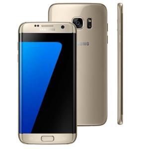 """Samsung Galaxy S7 Edge Dourado com 32GB, Tela 5.5"""", 4G, Câmera 12MP - R$1.546,90"""