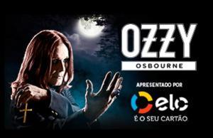 [BH] Show Ozzy Osbourne: ingresso pista (R$110,25) e premium (R$244)