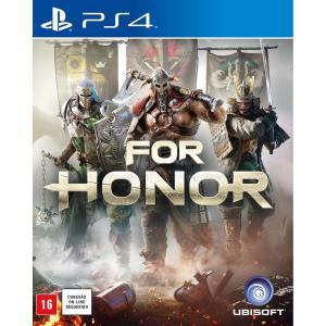 [Cartão Sub] Game For Honor - PS4 - R$54