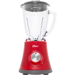 Liquidificador Super Chef Oster Vermelho ou Preto - R$168