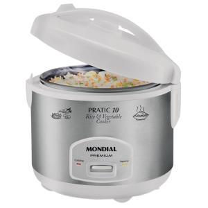 Panela Elétrica de Arroz Mondial Pratic Rice 10 - PE-16 - R$109